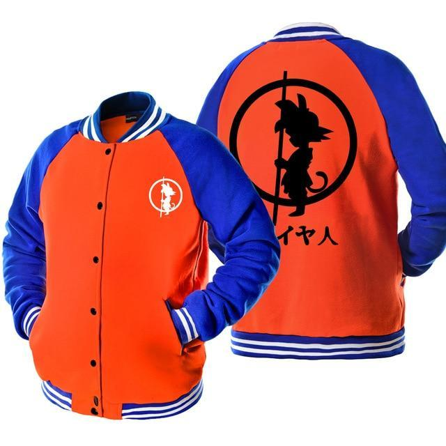 anime Dragon Ball Z Baseball Son kpop baseball jacket homme casual harajukudresskily-dresskily