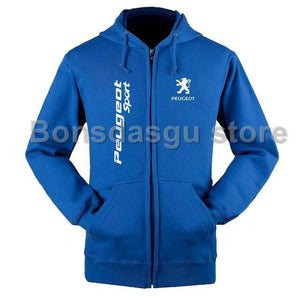 Zipper Hoodies Men/Women Sweatshirt Winter Peugeot zipper Sweatshirt Men/Women zipper hoodiedresskily-dresskily