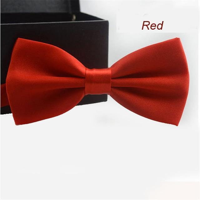 Chamsgend Coolbeener Classic Fashion Novelty Mens Adjustable Tuxedo Wedding Bow Tie Necktiedresskily-dresskily