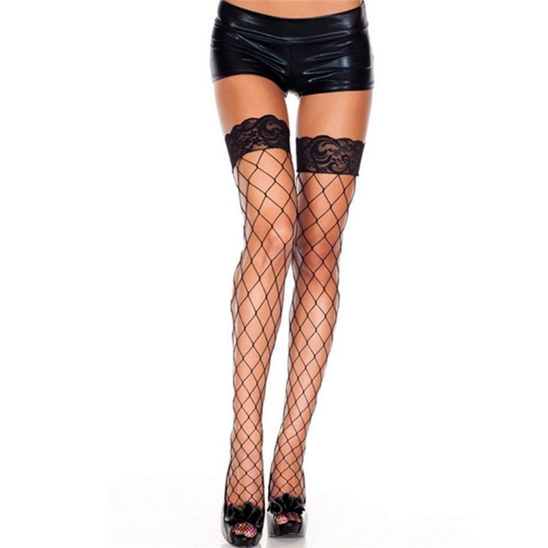 Sexy Lingerie Hot Sexy Thigh High Fishnet Stockings Lace Top Hold Updresskily-dresskily