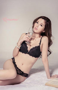 2017 Japanese Sexy Lingerie Set Luxurious Lace Embroidery Push Up Bra Anddresskily-dresskily