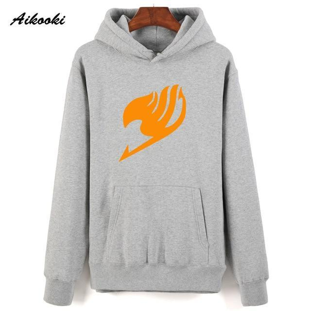 Fashion Hoodie Fairy Tail Sweatshirt Hoodies Men Aikooki Casual print Fairy Taildresskily-dresskily
