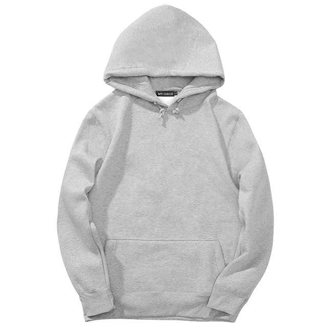 Trendy Faces Hooded Fleeces Men's Hoodies and Sweatshirts Oversized for Autumn withdresskily-dresskily