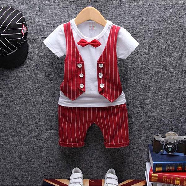 Formal Clothing Sets For Baby Boys 1 Year Birthday Christening Party Weddingdresskily-dresskily