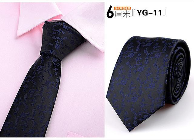 HIGH QUALITY ties for men skinny Wedding dress necktie fashion plaid cravatedresskily-dresskily