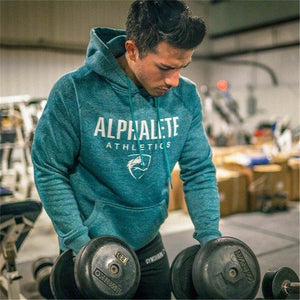 2018 New Hot Men Hoodies Sweatshirts High Quality ALPHALETE Printing Hoodie Fitnessdresskily-dresskily