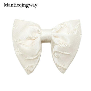 Fashion Big Bowties for Women Mens Groom Wedding Bow Tie Polyesterdresskily-dresskily