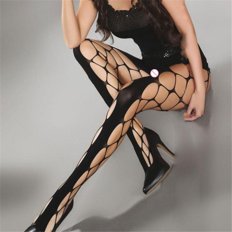 New Women's Long Sexy Fishnet Stockings For Women Fish Net Pantyhose Meshdresskily-dresskily