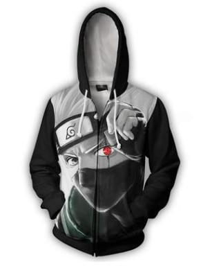 New fashion Cool sweatshirt Hoodies Men women printed 3D Anime Naruto hoodiedresskily-dresskily