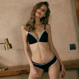 underwear Sexy Lingerie Cotton bra sets Push Up brassier comfortable women'sdresskily-dresskily