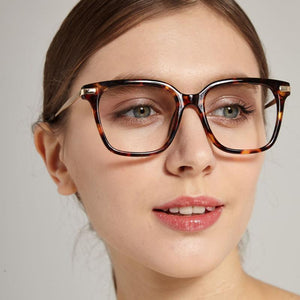 2018 New Square Glasses Frames Men Women Transparent lens Brand Designerdresskily-dresskily