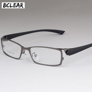 New Style Men Eyeglasses Frame High-end Business Male Eye Metal Spectacledresskily-dresskily