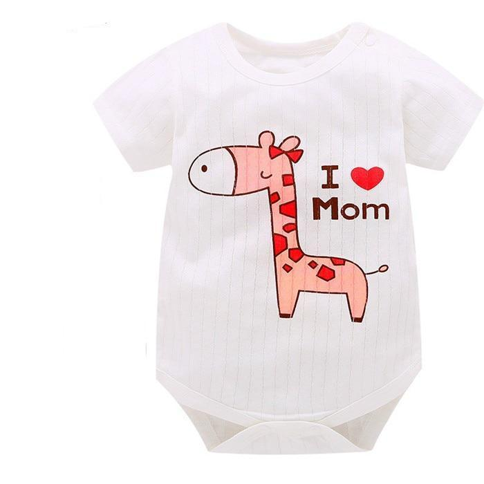 []Baby Boy Clothes Animal Jumpsuit Baby Girl Rompers Clothing Deer Cartoon infantdresskily-dresskily
