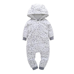 Winter Baby Romper For Boy Girl Clothes Newborn Bebes Pajamas Jumpsuit Warmdresskily-dresskily