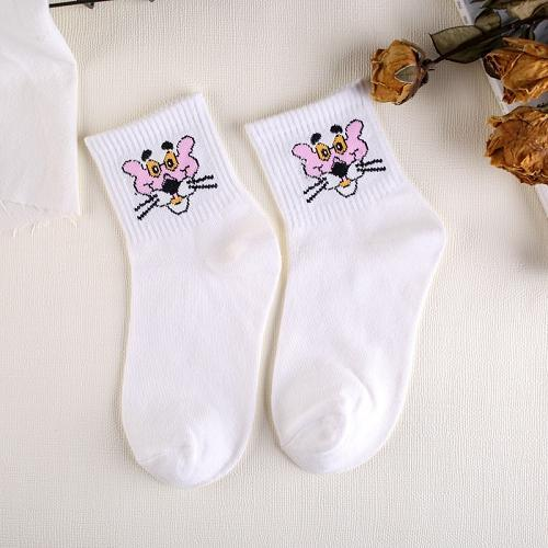 Fashion Cartoon Character Cute Short Socks Women Harajuku Cute Patterend Ankle Socksdresskily-dresskily