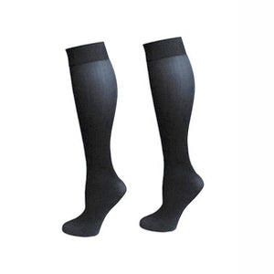 Nylon Pressure Compression Varicose Vein Leg Relief Pain Knee High Support longdresskily-dresskily