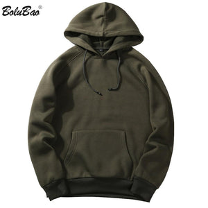 New Autumn Men Hoodies Sweatshirt Fashion Classic Streetwear Solid Color Hip Hopdresskily-dresskily
