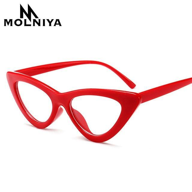 OFIR Sexy red cat eye glasses frames for women 2018 retro Opticaldresskily-dresskily