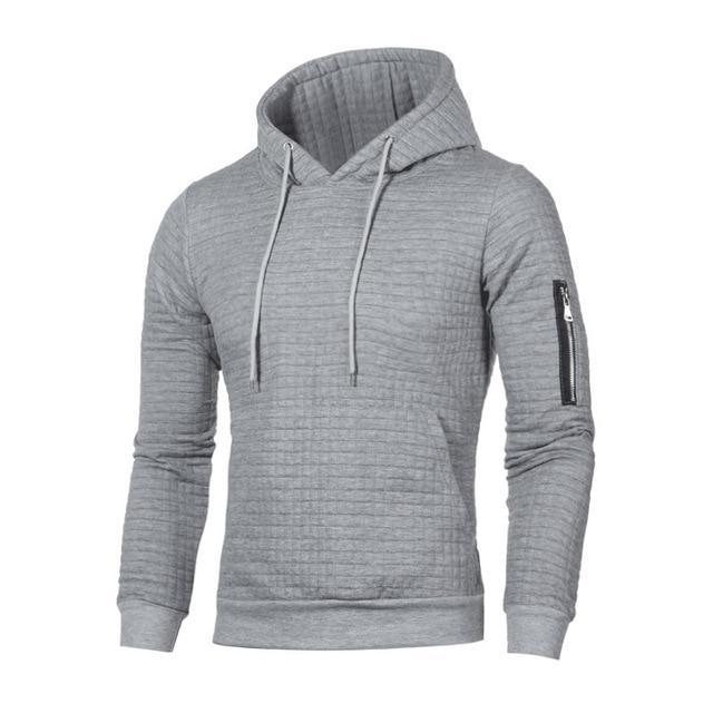 Men's Hoodies Spring Autumn Sportswear Long Sleeve Casual Hooded Coat Mensdresskily-dresskily