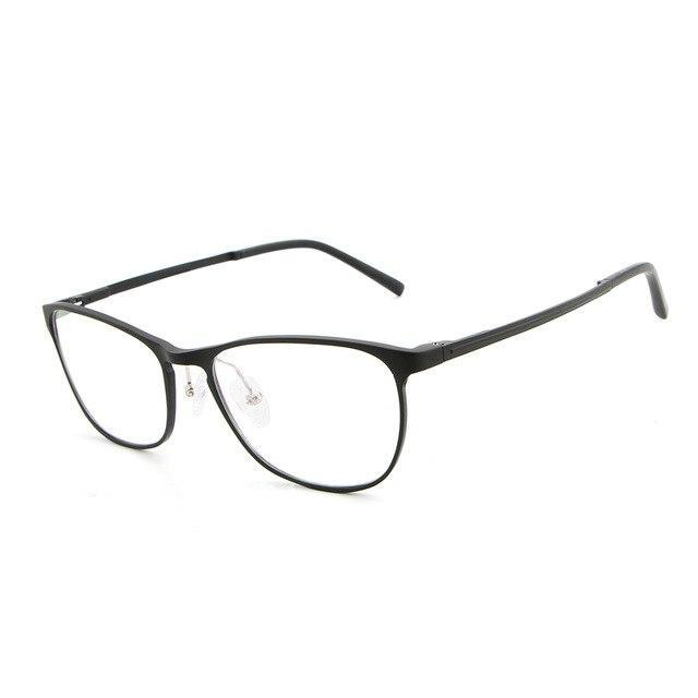 Eyeglasses Frame Men Women Computer Optical Glasses Spectacle Aluminum Magnesium Spectacle Fordresskily-dresskily