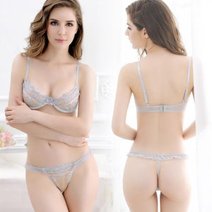 sexy lingerie hot Ultra-thin and transparent splice Gauze perspective cosplay eroticdresskily-dresskily