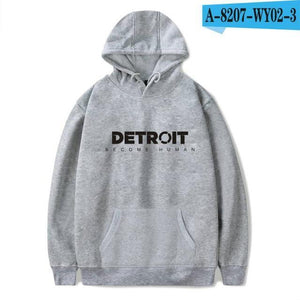 2018 Detroit Become Human Hoodies 3d Hot Game Printed Hoodie Streetwear Hipdresskily-dresskily