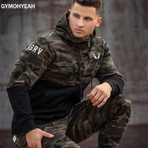 Brand 2018 new fashion spring autumn mens hoodies camouflage styledresskily-dresskily