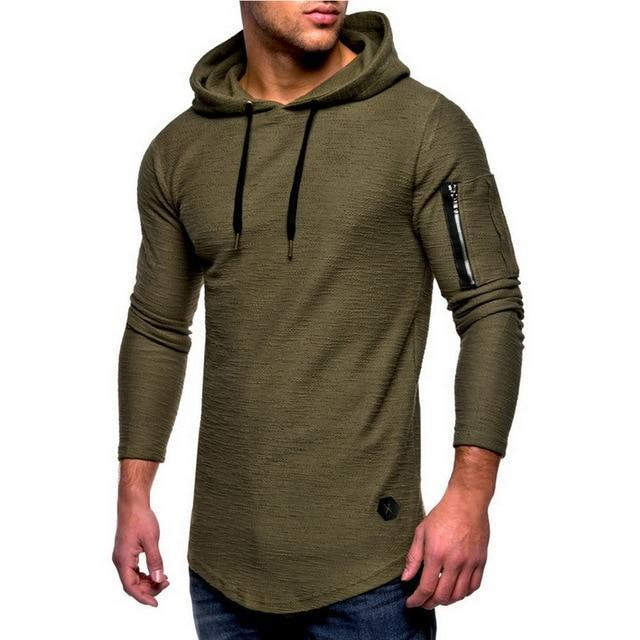 2018 New Autumn Men Hoodie Zipper Sweatshirt Mens Casual Hip Hopdresskily-dresskily
