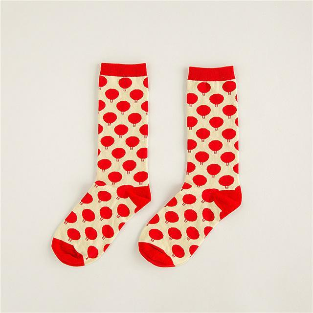 Men and Women Neutral Cotton Socks Lovers Socks, Flowers, Striped, Camouflagedresskily-dresskily
