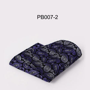 Fashion Men's Suits Handkerchiefs Towel Woven Floral Printing Pocket Square Hankies Mensdresskily-dresskily