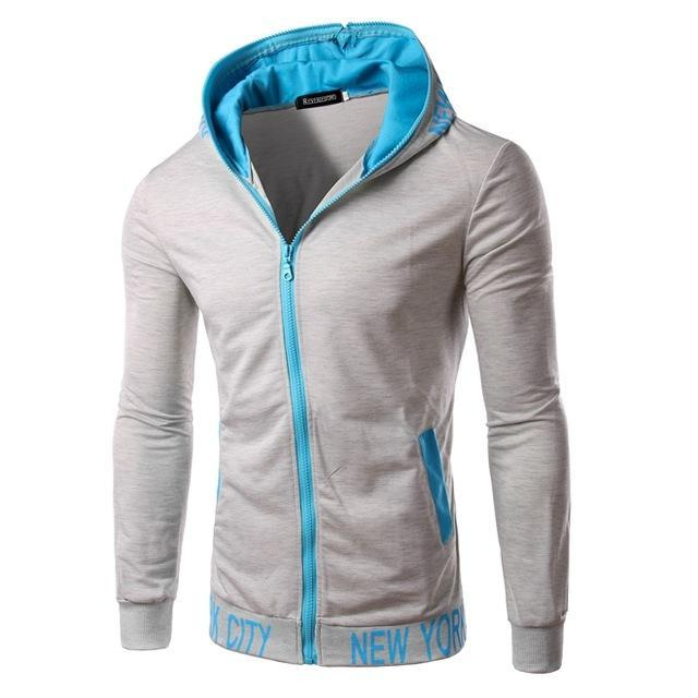 2018 New Fashion Autumn Men Hoodies Brand Slim Fit High Quality Mendresskily-dresskily