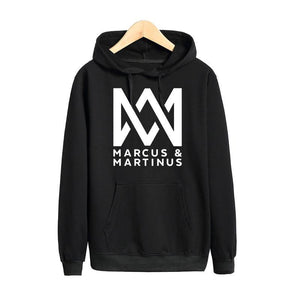Pkorli Marcus And Martinus Hoodies Men Women Hip Hop pop Music Sweatshirtdresskily-dresskily