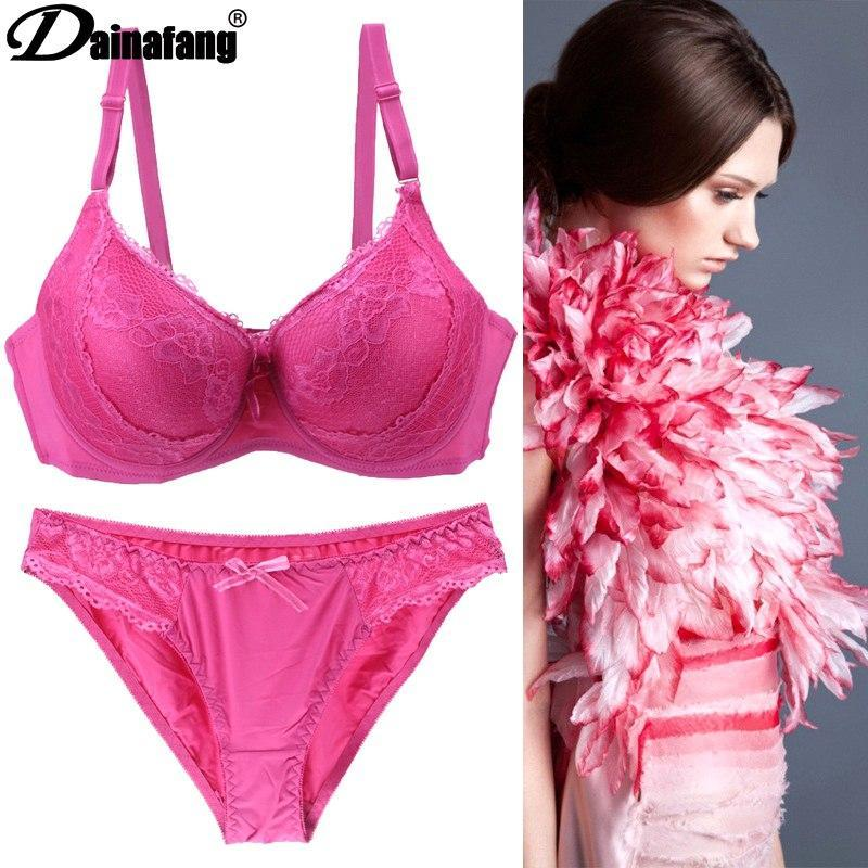 DAINAFANGSexy cotton lace comfortable breathable lingerie set 2 pieces underwear + pantsdresskily-dresskily