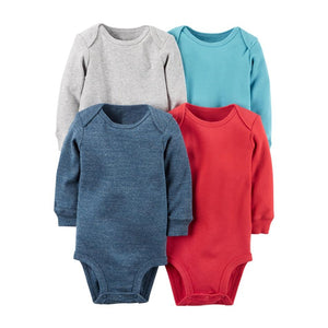 4pcs/lot Spring Autumn long Sleeve 4piece of set Original bebes kids Babydresskily-dresskily