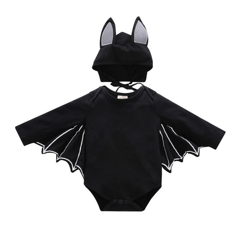 2PCS Baby Girls Halloween Costume Jumpsuits Cute Cartoon Toddler Climbing Clothes Newborndresskily-dresskily