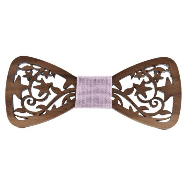 Wood Bow Tie Mens Wooden Bow Ties Gravatas Corbatas Business Butterfly Cravatdresskily-dresskily