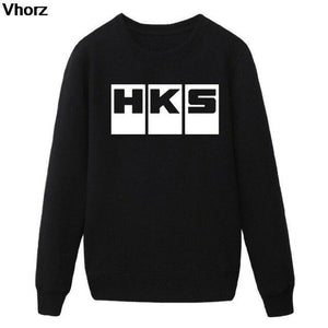 Fashion Brand Car Auto HKS Hoodies Men Cotton Sleeve Euro Size Hoodiesdresskily-dresskily
