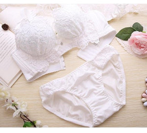 Push Up Bra Set Sexy Lingerie Underwear Women Panties And Bralette Underclothesdresskily-dresskily