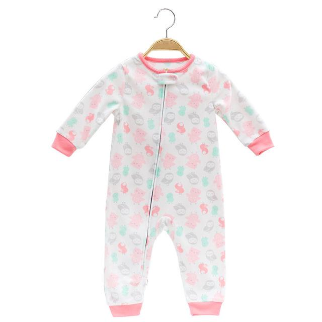 Baby Brand Body Suits Infant Romper Cute Fleece Clothing Baby Boy Girldresskily-dresskily