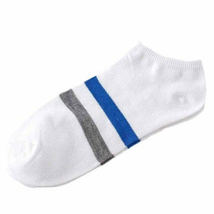 socks fashion style	1Pair Women And Men Casual Comfortable Stripe Cotton Sockdresskily-dresskily