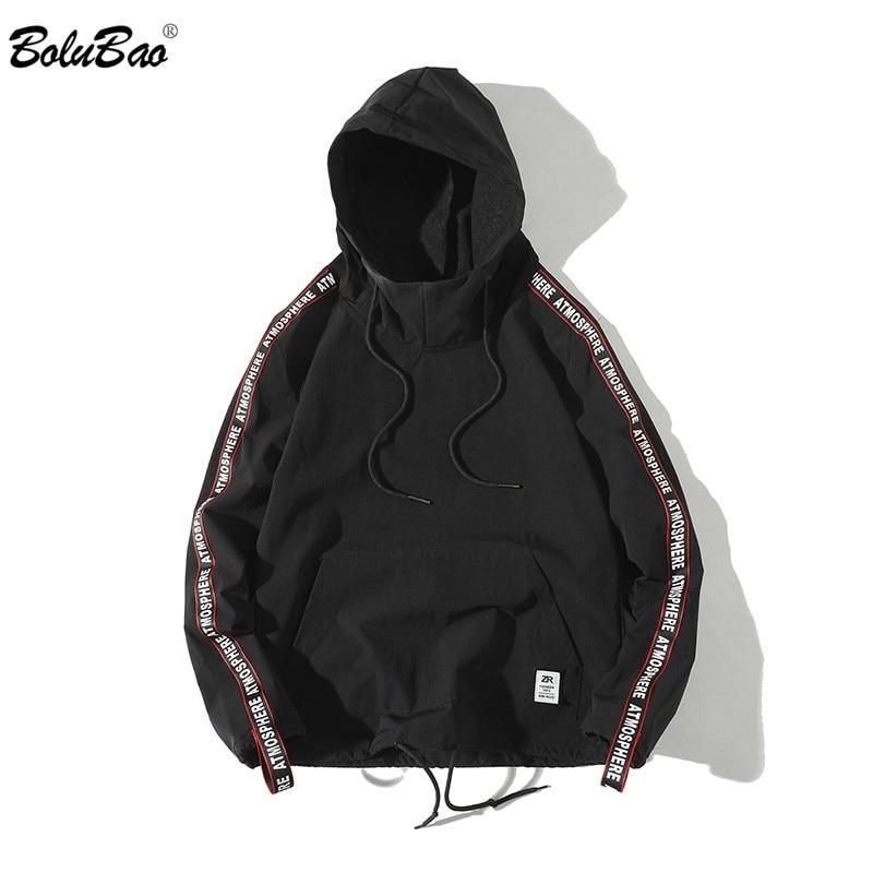 BOLUBAO 2018 New Autumn Men Hoodies Hip-Hop Sweatshirt Casual Cotton Male Pulloverdresskily-dresskily