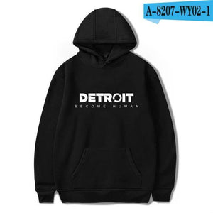2018 Detroit Become Human Hoodies 3d Hot Game Printed Streetwear Hoodies Hipdresskily-dresskily