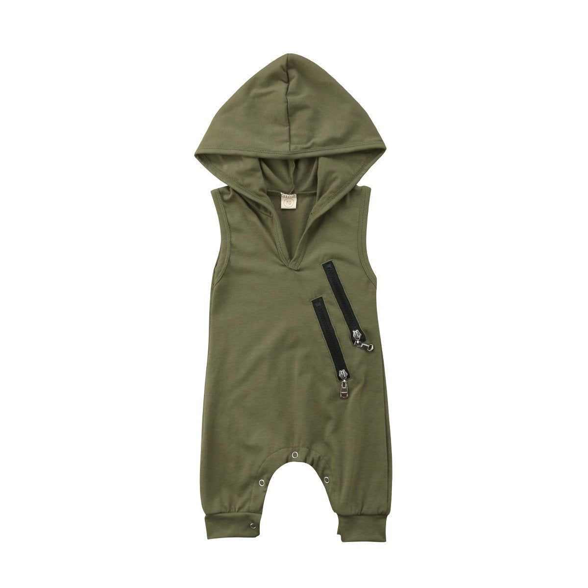 Cute Newborn Baby Boys Girls Camo Hooded Romper Jumpsuit Playsuit Clothesdresskily-dresskily