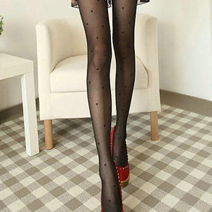 1PC Fashion Women All-match Peach Heart Sexy Pantyhose Stockings Fashion Women'sdresskily-dresskily
