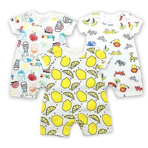 3PCS/LOT Baby Bodysuit Newborn Bebe Boy Clothing 100%Cotton clothes Cutedresskily-dresskily