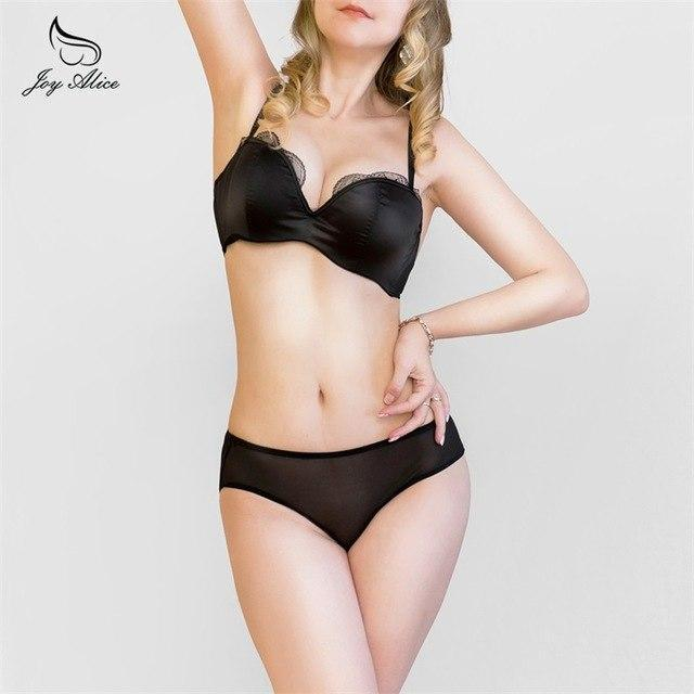 2018 Fashion bra and panties women's single-bra thin lace embroidery bradresskily-dresskily