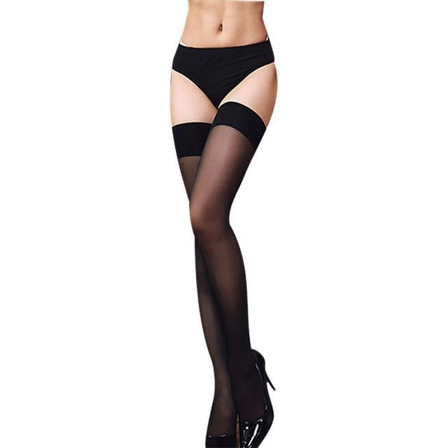 Sexy Nylon Stockings Thigh High Socks Women Summer Over The knee Highdresskily-dresskily