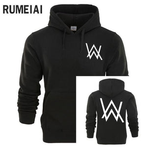 Hip Hop Streetwear Alan Walker DJ Hoodies High Quality Men Hooded Sweatshirtdresskily-dresskily