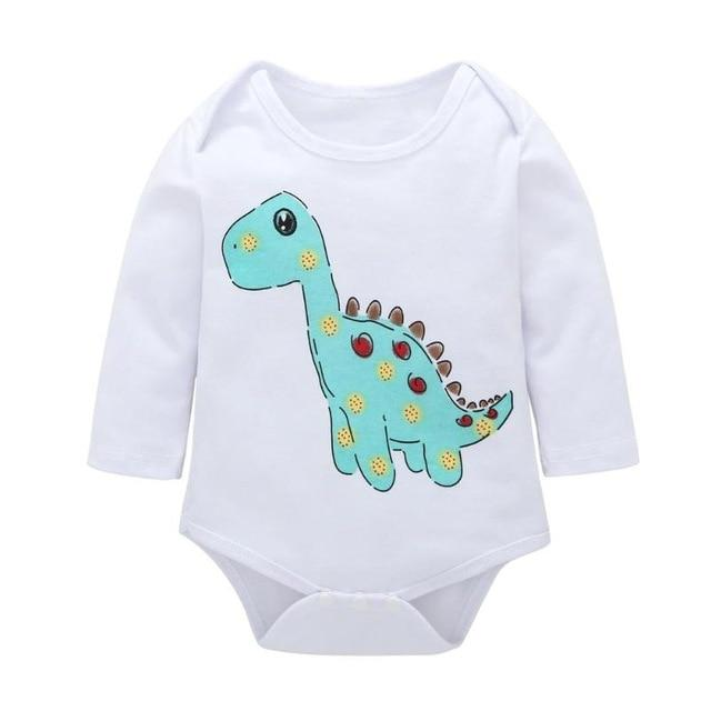 New Winter Baby Boys Romper Animal style Long Sleeve infant rompers Jumpsuitdresskily-dresskily