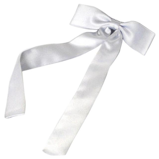 Adjustable Bow Neck Tie plain satin waiter student butterfly 12CM Fashion Womendresskily-dresskily